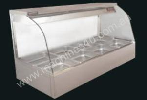 Woodson Curved Glass Hot Food Displays - WHFC24
