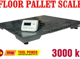 Floor Scale 3000kg 1.5m X 1.5m Millers Falls = New