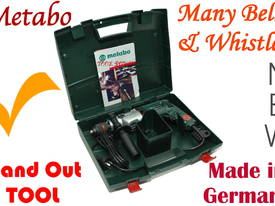 Drill Metabo variable speed H-D type