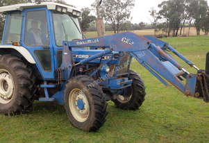Ford   6610 TRACTOR WITH FEL