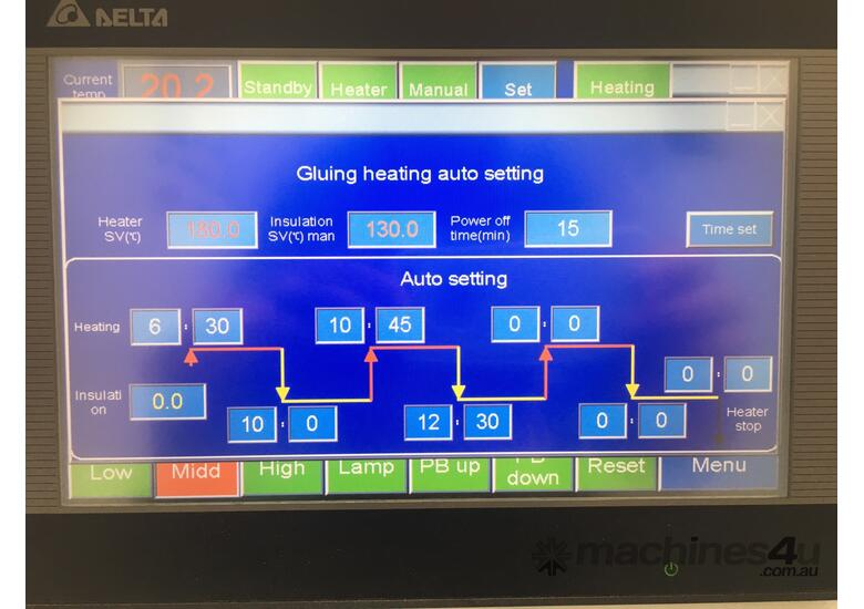 Outstanding value. KDT-365 Touchscreen, 3 speed to 23m/min, solid simple and accurate