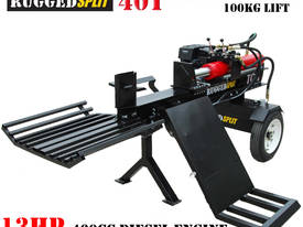 40T Diesel Log Splitter with 100kg Hydraulic lift - picture5' - Click to enlarge