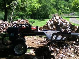 40T Diesel Log Splitter with 100kg Hydraulic lift - picture10' - Click to enlarge