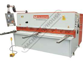 HG-2504 Hydraulic NC Swing Beam Guillotine - Deluxe 2500 x 4mm Mild Steel Shearing Capacity 1-Axis E - picture3' - Click to enlarge