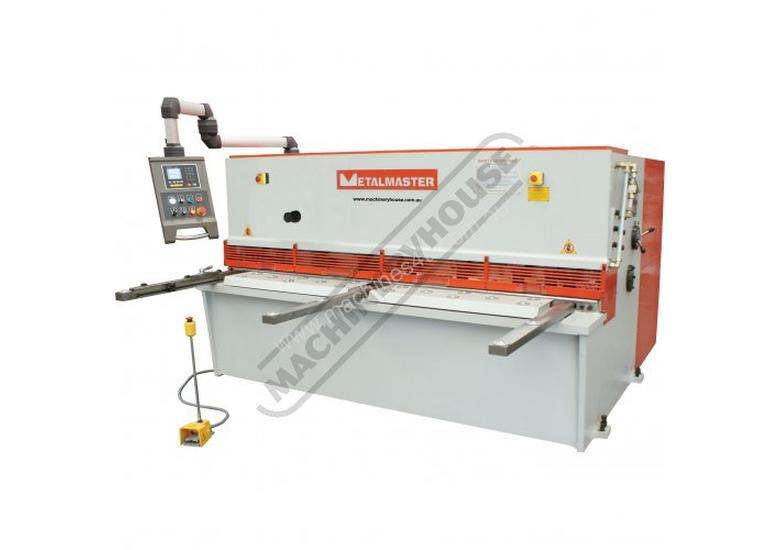 HG-2504 Hydraulic NC Swing Beam Guillotine - Deluxe 2500 x 4mm Mild Steel Shearing Capacity 1-Axis E