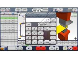 Fasfold 202 CNC Pressbrake Control Multi Touch Screen Colour Graphics Now with 19