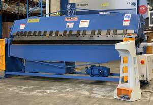 Heavy Duty Industrial 2500mm X 2.5mm Full Hydraulic Panbrake Folder