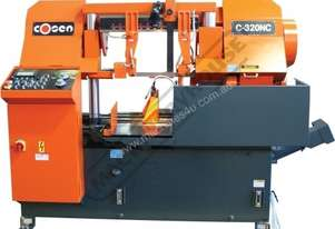 C-320NC NC Double Column Metal Cutting Band Saw - Automatic Hitch Feed 380 x 320mm (W x H) Rectangle