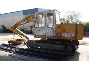 KATO HD450SEV EXCAVATOR *WRECKING*