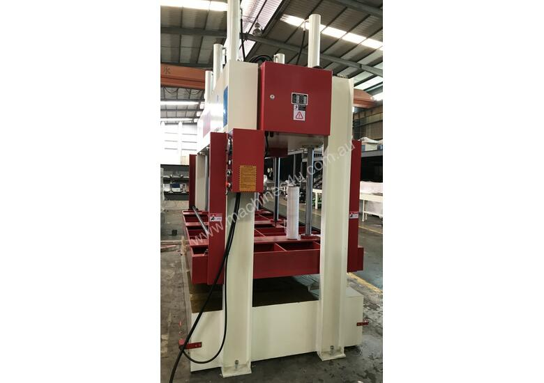 RHINO 80T HYDRAULIC COLD PRESS 3250 X 1500 x 1000MM OPENING *NOW IN STOCK*