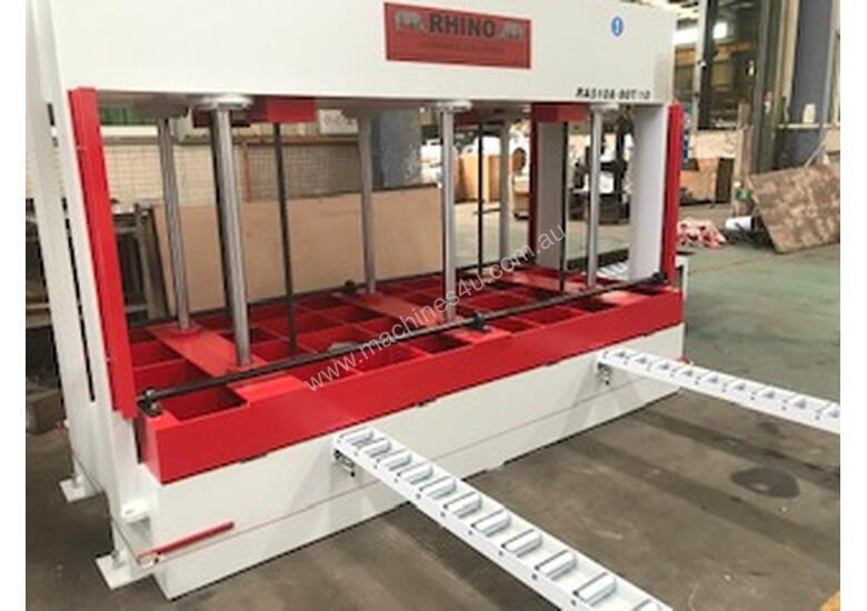 RHINO 80T HYDRAULIC COLD PRESS 3250 X 1500 x 1000MM OPENING *ON SALE NOW*