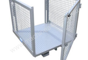 Forklift Order Picker Cage with Double Gates