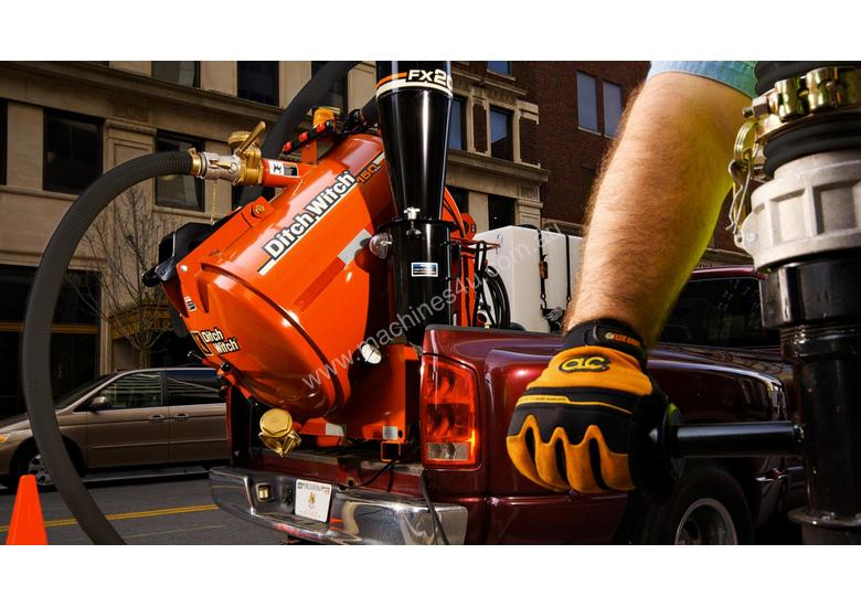 Ditch Witch FX20-150 gallon, 540cfm, Vacuum