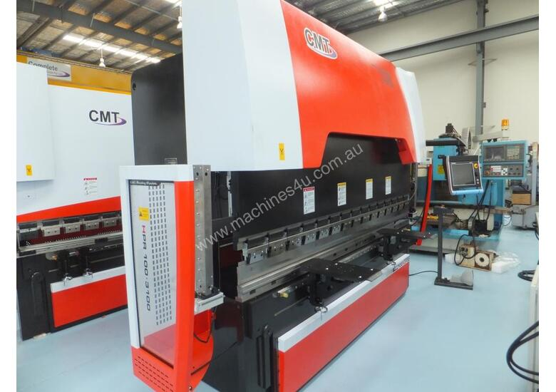 CMT HPR 100  TON | 3100MM CNC PRESS BRAKE - 7 AXIS | 3D CONTROLLER