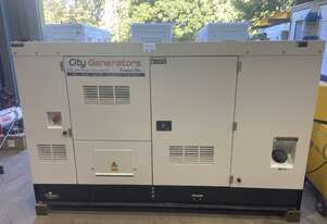 40kVA generator set Powered by a Cummins ® engine