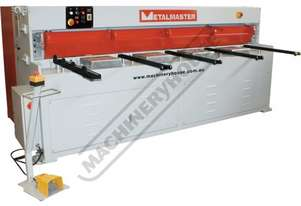 HG-840B Hydraulic Guillotine 2500 x 4mm Mild Steel Shearing Capacity Manual Backgauge & Includes Rap