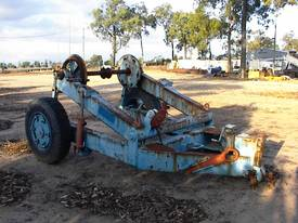 Cable reel/drum trailer 6 tonne - picture1' - Click to enlarge