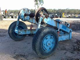 Cable reel/drum trailer 6 tonne - picture2' - Click to enlarge