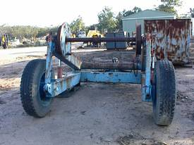 Cable reel/drum trailer 6 tonne - picture3' - Click to enlarge