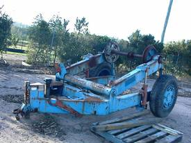 Cable reel/drum trailer 6 tonne - picture4' - Click to enlarge