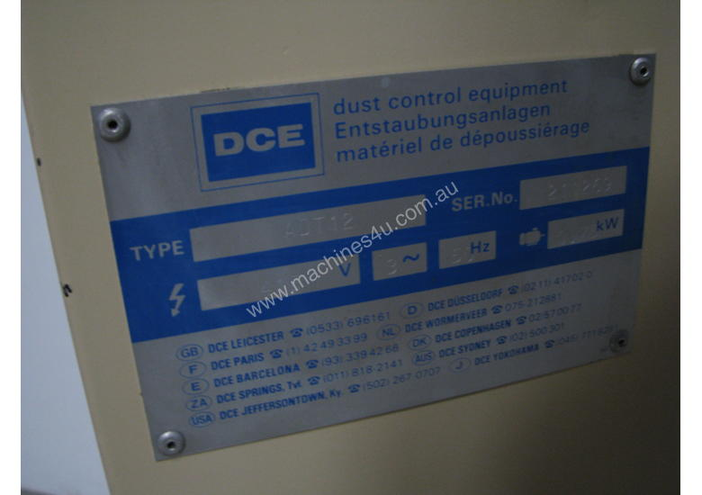 Filter Dust Extractor Collector - DCE ADT12