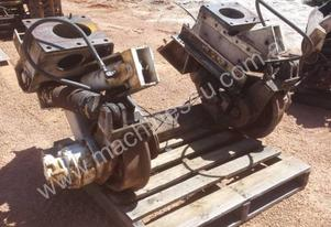 RAIL WHEELS TRUCK UNDER CARRIAGE