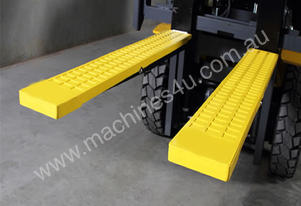Rubber Forklift Tyne Grip Covers 125 x 1830mm