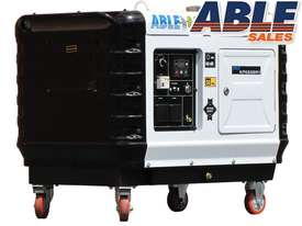 6kVA Diesel Generator Single Phase Super Silent - picture0' - Click to enlarge