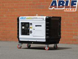6kVA Diesel Generator Single Phase Super Silent - picture1' - Click to enlarge