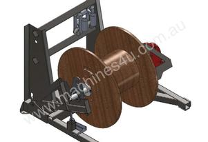 6 TONNE ELECTRIC SELF LOADING CABLE DRUM STAND