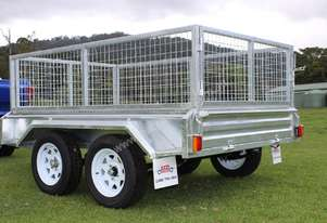 NEW 8x5 Box Trailer Tandem Axle Ozzi