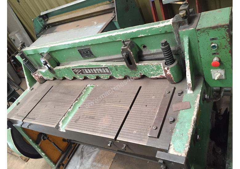 Edwards Truck Sales >> Used 1250 x 3mm Mechanical Guillotine 1250 x 3mm ...