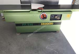 Quality heavy duty 530mm planer, made in Italy
