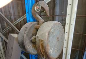 Anchor Chain Hoist (or Block)