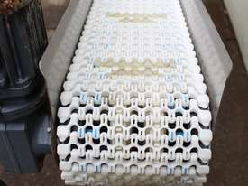 Inclined Plastic Belt Conveyor - picture3' - Click to enlarge