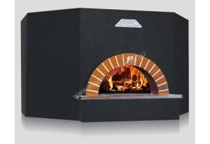 Vesuvio OT140 OT Series Round Commercial Wood Fired Oven