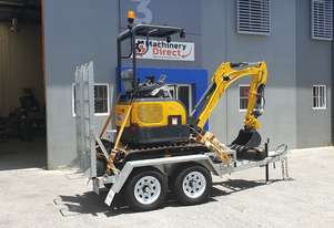 1.8t Mini Excavator 10 Piece Package Deal ** Feb Only**
