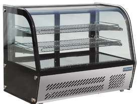 Polar GC873-A - Curved Glass Countertop Display Cabinet 120Ltr - picture0' - Click to enlarge