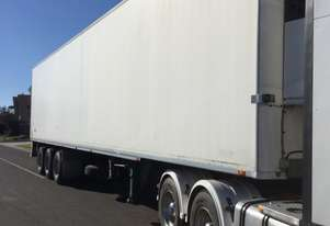 Maxitrans Semi Refrigerated Van Trailer