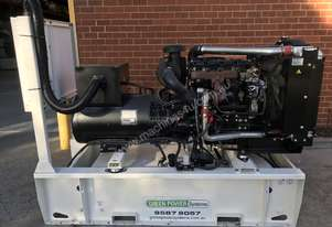 88kW/110kVA 3 Phase Skidmounted Diesel Generator.  Perkins Engine.