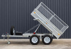 8ft x 5ft Hydraulic Tipping Trailer 2T