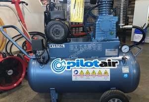 Pilot K17, 15amp Piston Electric Air Compressor, Brand New.