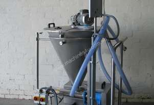 Stainless Volumetric Cavity Pump with Hopper Mixer