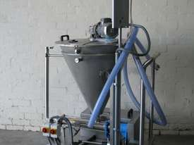 Stainless Volumetric Cavity Pump with Hopper Mixer - picture0' - Click to enlarge