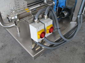 Stainless Volumetric Cavity Pump with Hopper Mixer - picture1' - Click to enlarge