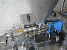 Stainless Volumetric Cavity Pump with Hopper Mixer - picture2' - Click to enlarge
