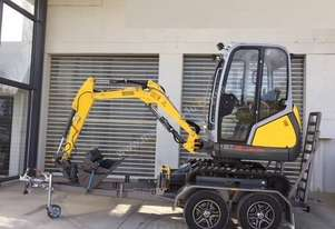 Wacker Neuson ET18 VDS Trailer and excavator package