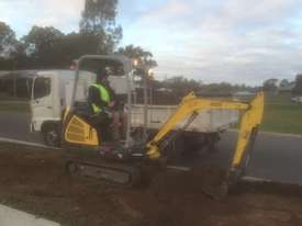 Wacker Neuson ET18 VDS canopy excavator/trailer package - picture16' - Click to enlarge