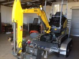 Wacker Neuson ET18 VDS canopy excavator/trailer package - picture11' - Click to enlarge