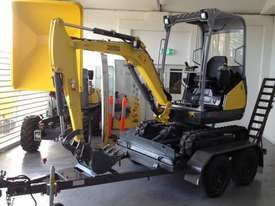 Wacker Neuson ET18 VDS canopy excavator/trailer package - picture13' - Click to enlarge
